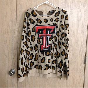 🖤NWT🖤 Gameday Couture Leopard TTU Sweater